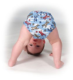 Modern Cloth Diapers: Going Green IS Easy!
