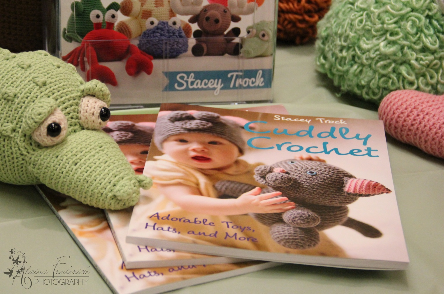 Amigurumi Crochet Animal Pattern Books by Stacey Trock