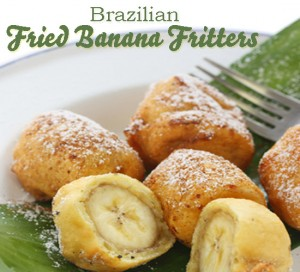 Brazilian Fried Banana Fritters @DinkerGiggles #recipe