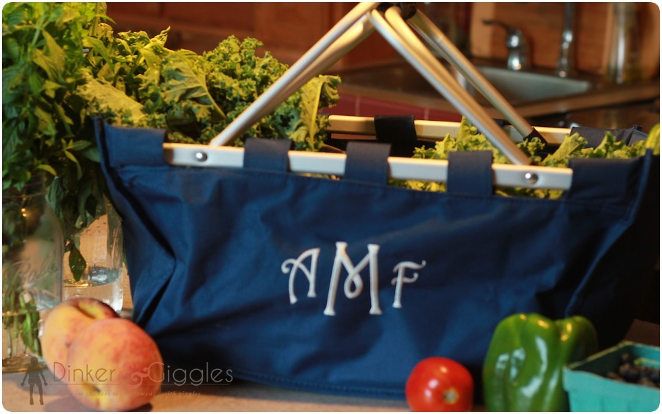 customized farmer market tote