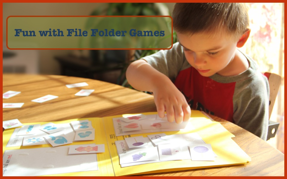 Making Learning Fun with File Folder Games #homeschool @DinkerGiggles