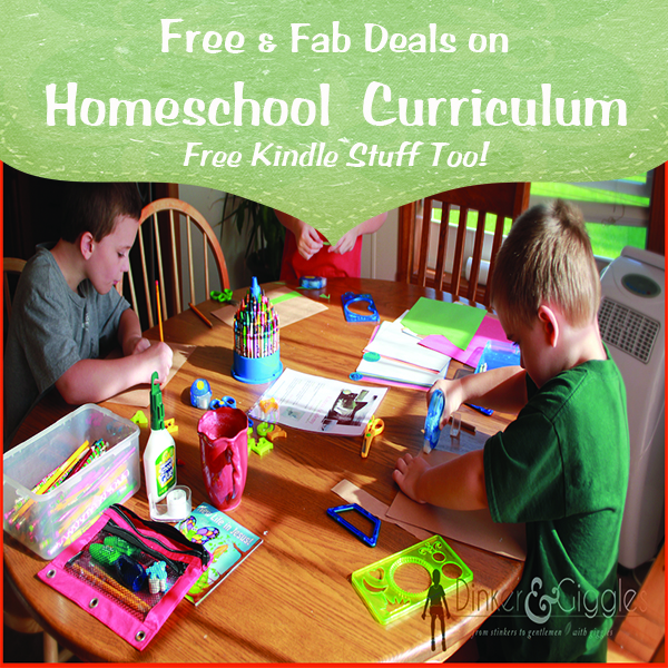Free Kindle Books Great #Homeschool Deals @DinkerGiggles