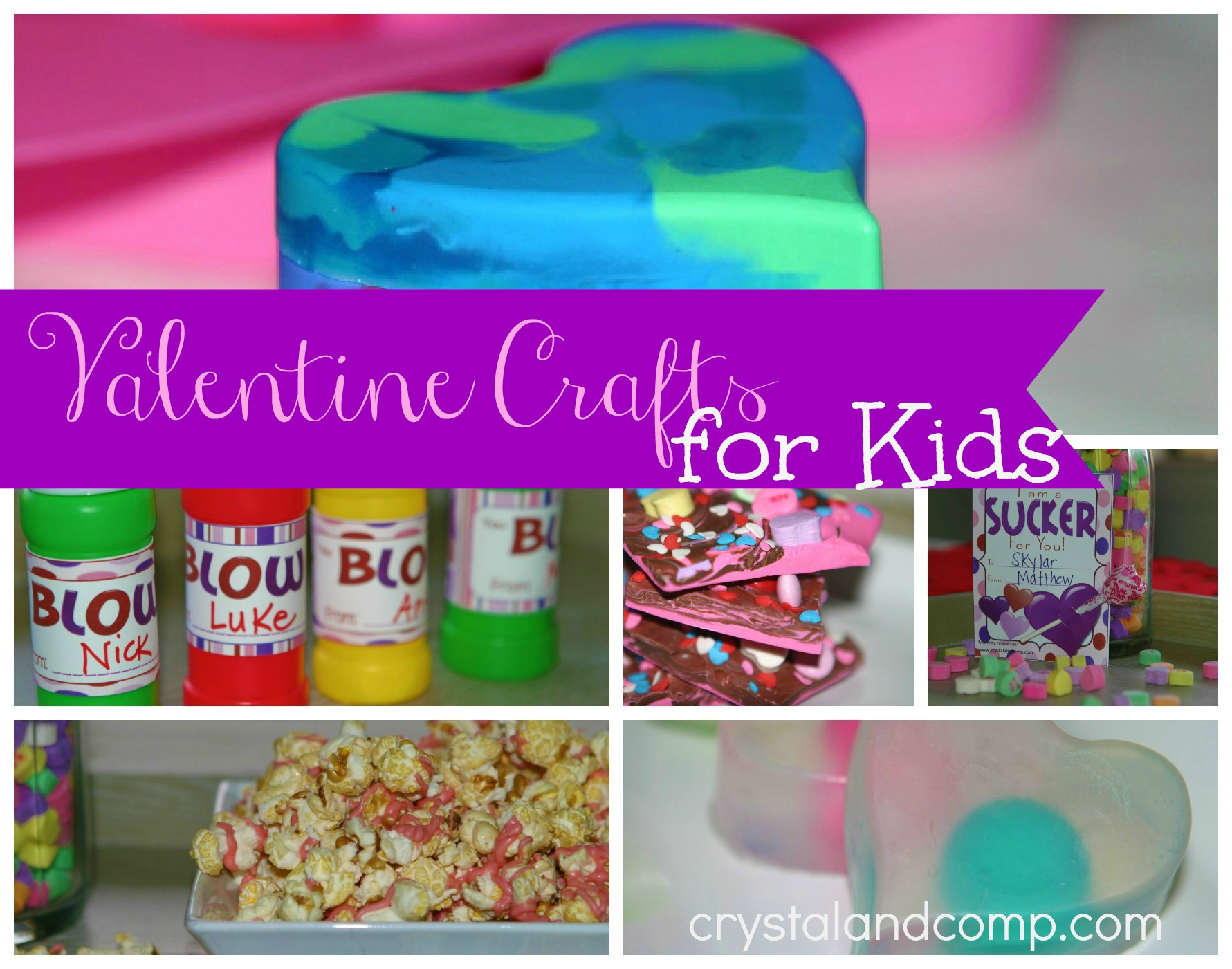 Valentine Crafts for Kids @DinkerGiggles @CrystalandComp #homeschool #crafts