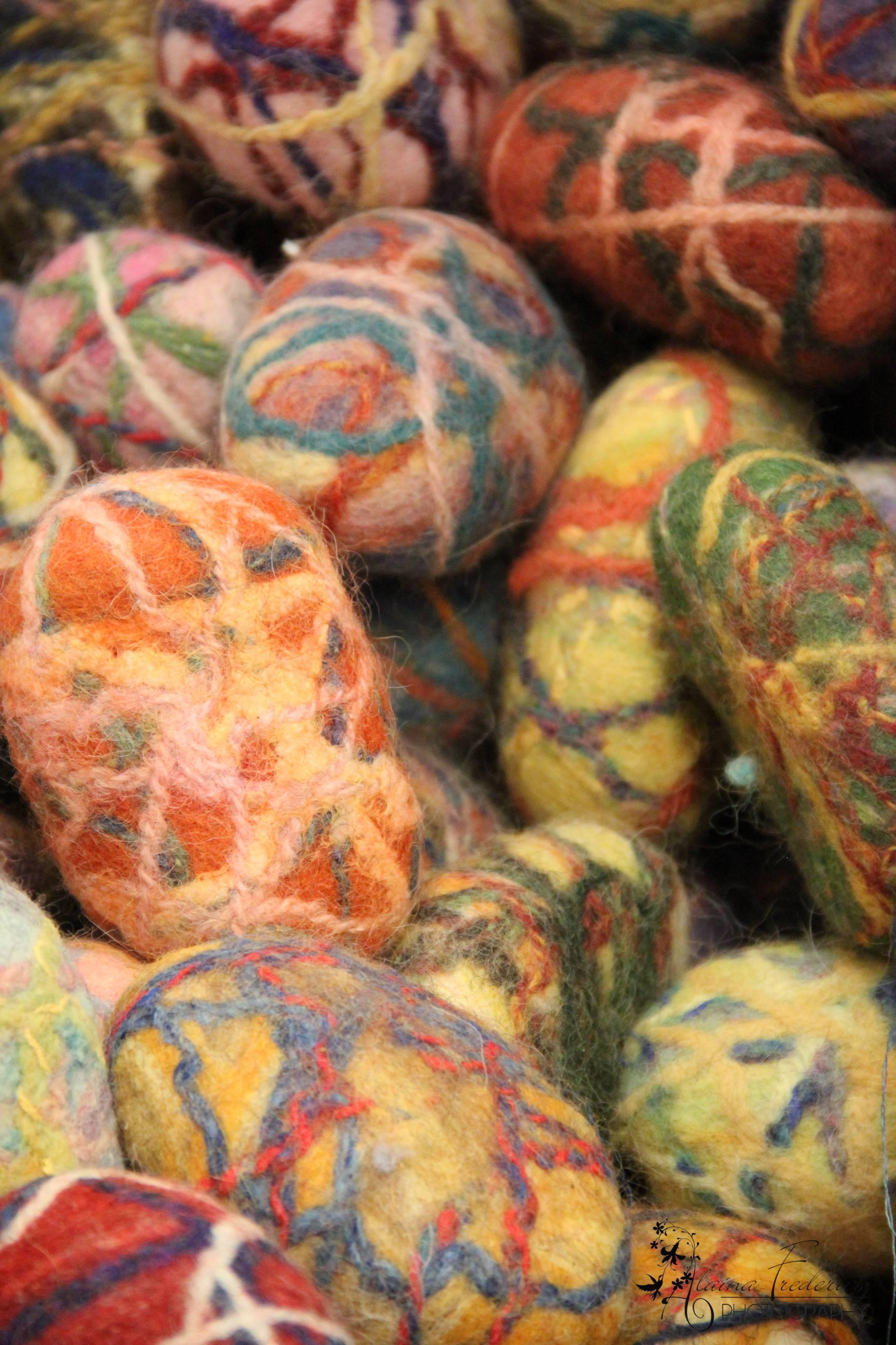 Felted Lavender Soaps: Pittsburgh Knit & Crochet Festival @DinkerGiggles #knit #crochet