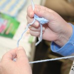 Learn to Crochet Class: Pittsburgh Knit & Crochet Festival @DinkerGiggles #knit #crochet