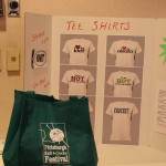Bags, Shirts, and Stickers Pittsburgh Knit & Crochet Festival #knit #crochet @DinkerGiggles