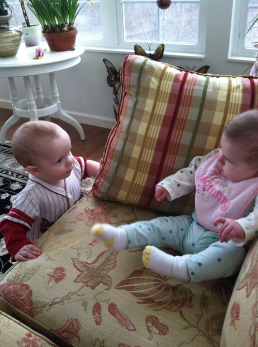 Baby Cousins - What ya lookin at fool! @DinkerGiggles #thismoment