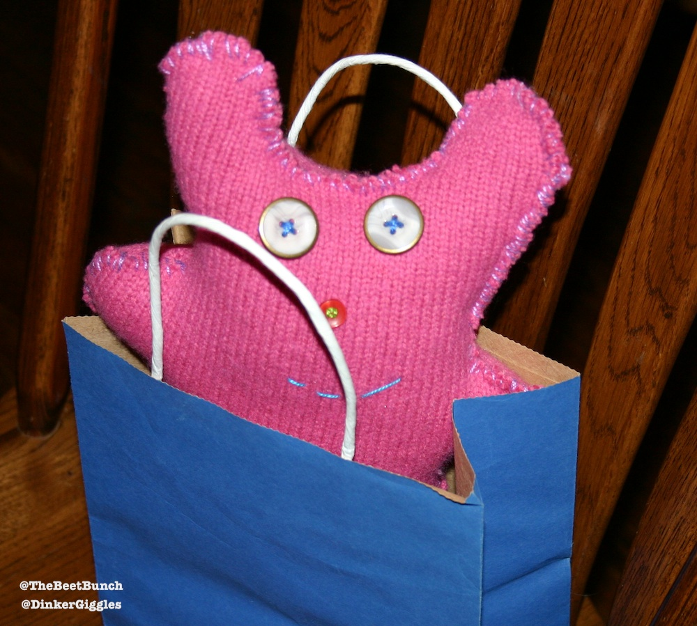 Handmade Gift for a Child - By a Child @DinkerGiggles @TheBeetBunch #handmade #crafts #howto #diy