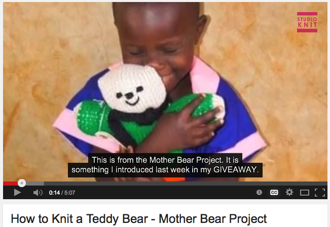 How to Knit a Teddy Bear